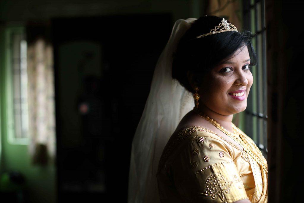 christian wedding portraits